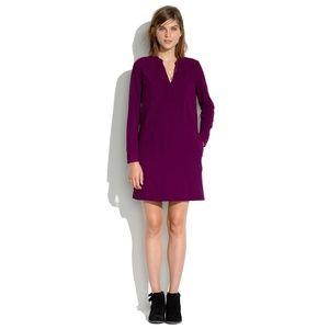 NWT Madewell Long Sleeve Shift Dress